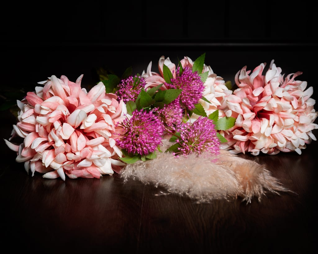 Pink Flowers Studio Accessories Sarah Fisher Photography